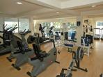 Extensively equipped Fitness Centre