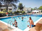 Out door heated pool -open during summer season