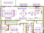 Here's the layout, note washer & dryer in Bath 2