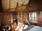 Family tree house with loft. Loft contain 2 twin or king size mattress