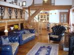 Bert's lounge area