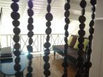Game room in mezzanine area