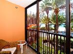 Bedroom 2 Screened | Balcony