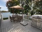 Gigantic 35 x 15 deck overlooking the lake