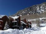 Beautiful setting! Snowshoe or X-C ski right from the front door!