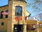 Toscana Cafe, a great place to dine in or pick up fresh made pas