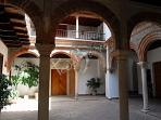 Patio en el Palacio de Mondragón