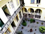 KIRALY: The XIXth century patrician house courtyard