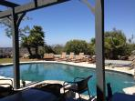 Pool and yard