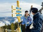 Ski Beaver Creek or Vail is 15 minutes away.   Free Westin shuttle to Vail or BC Village