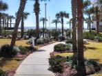 Walkway to Pool/Beach