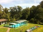 Top location in a modern setting Holidays in Ardennes with pool  - BE-227-Burg Reuland