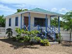 Blue Marlin Cabana at Latitude Adjustment in Hopkins Belize