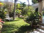 sun lounge and gardens