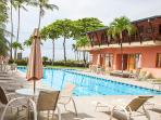 Biggest beachfront pool in jaco