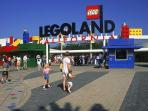 Family fun is always great at the world famous Legoland, just a short drive to the north.