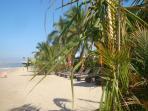 Private beach at Molino de Agua
