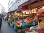 Fruit & vegetables Poncelet Market