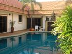 all suites open onto the pool in a private courtyard