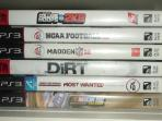 6 PS3 games for the kids.