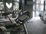 In Suites Mexico City  you can enjoye a very complete gym