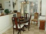 Dining Room with seating up to 6 people