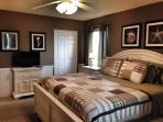 Mid-level King Master Bedroom (alternate view)