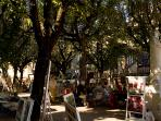 Bergerac - one of the many squares
