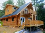 new log home completed in 2013