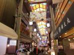 Nishiki Market(7minutes walk)