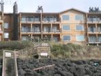 Seaspray - View from the Beach of Cavalier Beachfront Condos