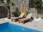 privat pool of 6  8 meters