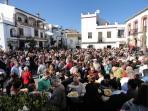 Comares plaza
