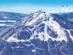 Ski resort Golte - graphic