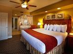 Master bedroom suite + Spa bath