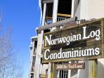 Norwegian Log - Ski-in/Ski-out Condo - 3 Bedrooms