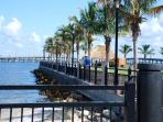 HarborWalk walking/biking trail in Punta gorda