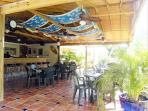 Violas Bar Restaurant onsite at Sunrise