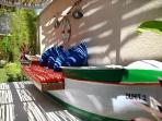 garden boat seat
