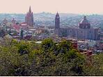 View over San Miguel from top floor terrace