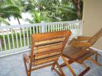 Deck, reef view - enjoy the tradewinds