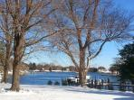 Bay Cottage Snow Day, Feb, 2014