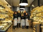 Wine, cheese, pastries, the best French cuisine welcomes you Place Maubert