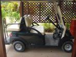 Complimentary golf cart
