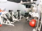 Free use of bi level fitness center