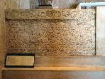 Baska Tablet in Glagolitic in the church of St. Lucy