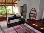 bedroom 2 upstair with terrasse