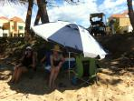 Make your oun setting at the beach