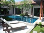 Modern villa with pool for rent in Phuket