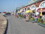 And if you do want to venture out, we're a few minute's walk from the seafront